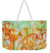 Field Of California Poppies Weekender Tote Bag