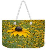Field Of Coneflowers Weekender Tote Bag