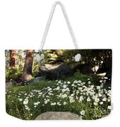 Field Of Daisies In Tahoe Weekender Tote Bag