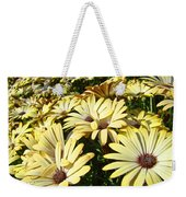 Field Of Daisies Landscape Floral Art Prints Daisy Baslee Troutman Weekender Tote Bag