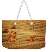 Field Of Gold #3 Weekender Tote Bag