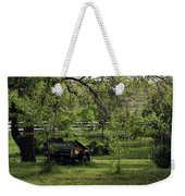 Field Of Green Weekender Tote Bag