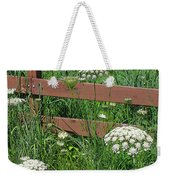 Field Of Lace Weekender Tote Bag
