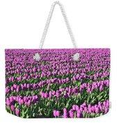 Field Of Purple Flowers Weekender Tote Bag