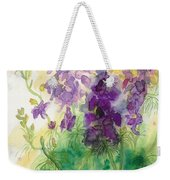 Field Of Purple Weekender Tote Bag