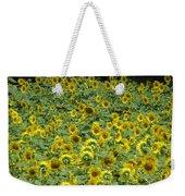 Field Of Sun Weekender Tote Bag