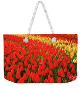 Field Of Tulips Weekender Tote Bag