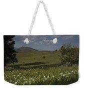 Field Of White Flowers Weekender Tote Bag