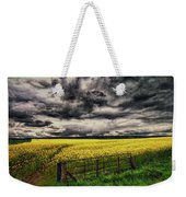 Field Of Yellow Flowers Weekender Tote Bag