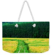 Field Of Yellow Weekender Tote Bag