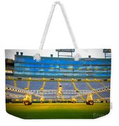 Field View Of Lambeau Weekender Tote Bag