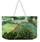 Field With Poppies Weekender Tote Bag