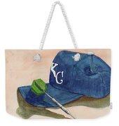 Fielder Weekender Tote Bag by Terry Lewey