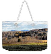 Fields And Folds Weekender Tote Bag
