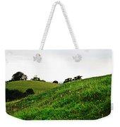 Fields In Glastonbury Weekender Tote Bag