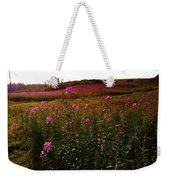 Fields In Pink Weekender Tote Bag
