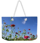 Fields Of Glory Weekender Tote Bag by Valeria Donaldson