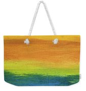 Fields Of Gold 1 - Abstract Summer Landscape Painting Weekender Tote Bag