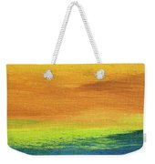Fields Of Gold 2 - Abstract Summer Landscape Painting Weekender Tote Bag