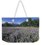Fields Of Lupine And Owl Clover Weekender Tote Bag