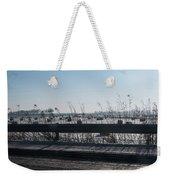 Fields Of Snow Weekender Tote Bag