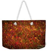 Fields On Fire Weekender Tote Bag
