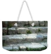 Fieldstone Stairs New England Weekender Tote Bag