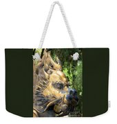 Fierce Foo Dog Face Weekender Tote Bag