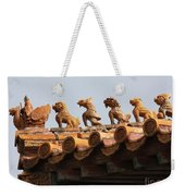 Fierce Guardians Of The Forbidden City Weekender Tote Bag