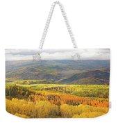 Fiery Aspen Grove Weekender Tote Bag
