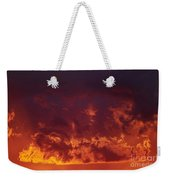 Fiery Clouds Weekender Tote Bag
