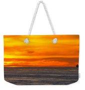 Lava Sky Weekender Tote Bag