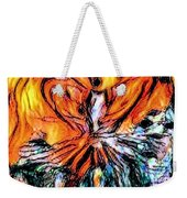 Fiery Crystal Weekender Tote Bag