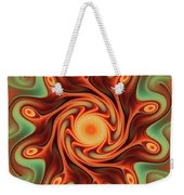 Fiery Dance Weekender Tote Bag