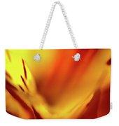 Fiery Weekender Tote Bag