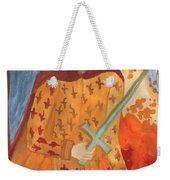 Fiery King Of Swords Weekender Tote Bag