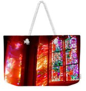Fiery Light 2 Weekender Tote Bag
