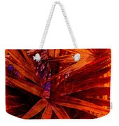 Fiery Palm Weekender Tote Bag