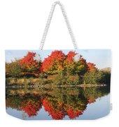 Fiery Reflections Weekender Tote Bag