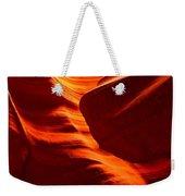 Fiery Sandstone Abstract Weekender Tote Bag