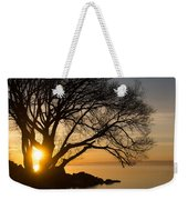Fiery Sunrise - Like A Golden Portal To Another World Weekender Tote Bag