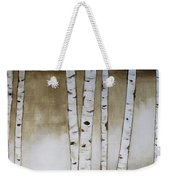 Fifteen Birch Trees Weekender Tote Bag