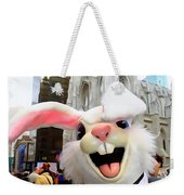 Fifth Ave Easter Bunny Weekender Tote Bag