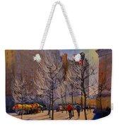 Fifth Avenue - Late Winter At The Met Weekender Tote Bag