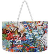 Fifth Day Of Creation 201764 Weekender Tote Bag