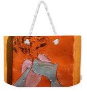 Fifties Gal - Tile Weekender Tote Bag