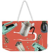 Fifties Kitchen Iv Weekender Tote Bag