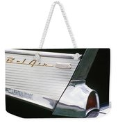 Fifty-seven Chevy Weekender Tote Bag
