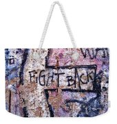 Fight Back - Berlin Wall Weekender Tote Bag