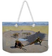 Fight For The Waterhole Weekender Tote Bag